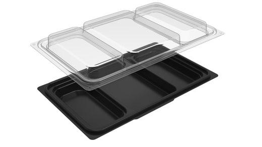 Bento Box / 3 Compartment