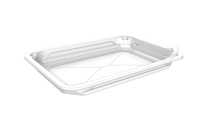 Example of a Evolve™ tray