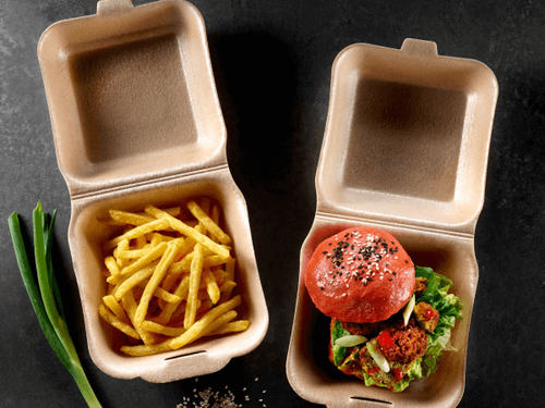 Food to go packaging eps