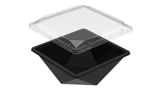 Jewel - 65 Black and Clear