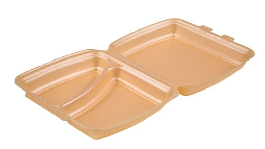 XL Two Compartment Meal Box / HP4/2