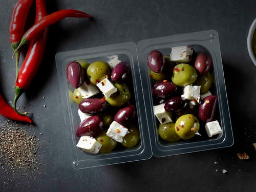 Mono Rigid Film for Salads and snacking - kp MonoSeal